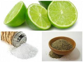 7 Problèmes de santé qui peuvent être résolus par le citron, poivre et sel