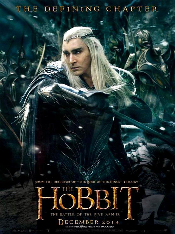 Hobbitul: Bătălia de la Cinci Armate - Thranduil