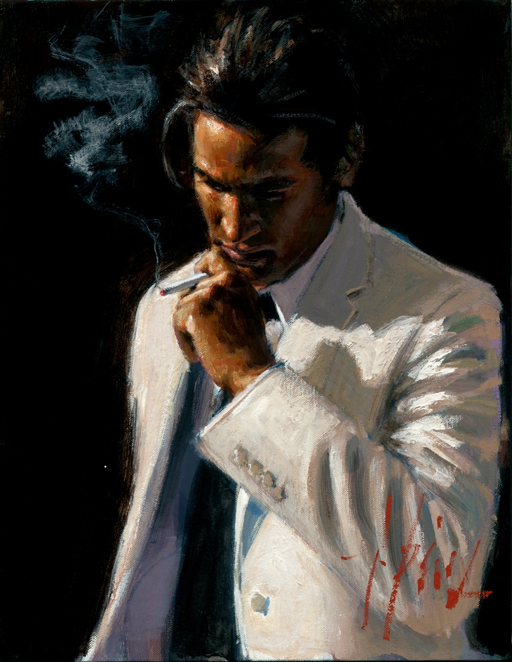 Male Paintings By Fabian Perez, 1967