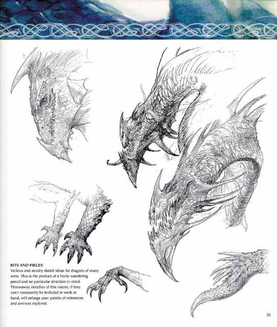 descarga dibujar dragones