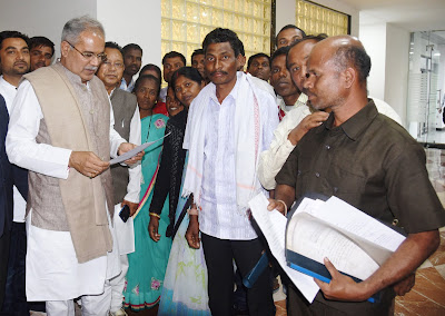 रायपुर : मुख्यमंत्री से रसोइया संघ की मुलाकात