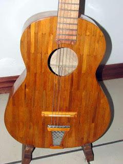 kerajinan tangan dari stik es krim gitar