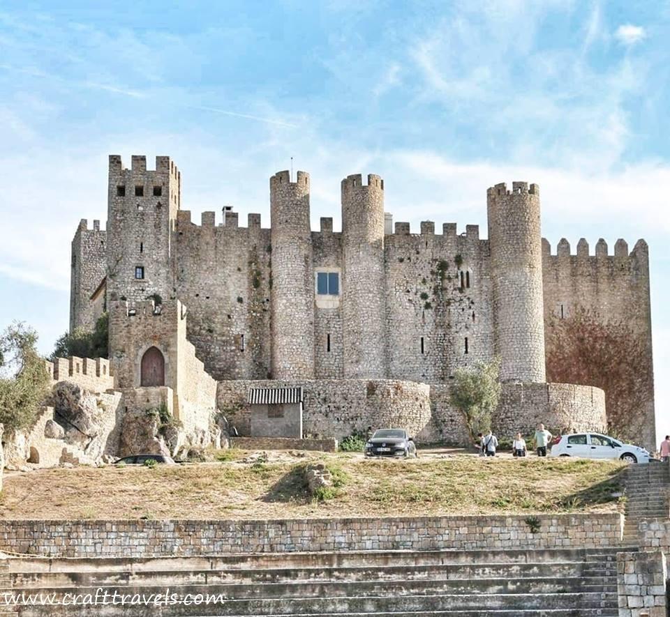 zabytki Portugalii, architektura Portugalii, zamek Obidos w Portugalii, architektura portugalsa, atrakcje w Portugalii