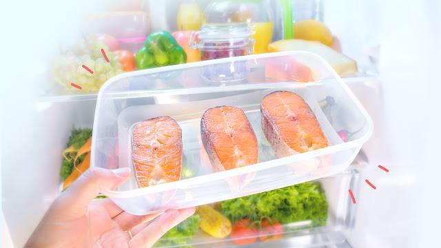 cara menyimpan ikan di kulkas
