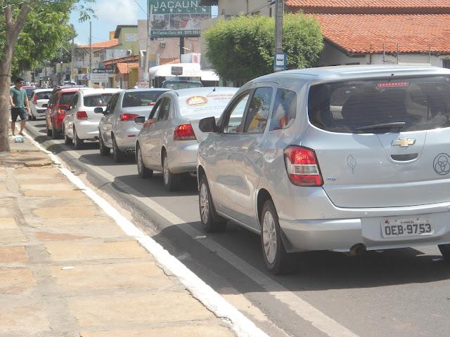 Congestionamento na Av. Pinheiro Machado