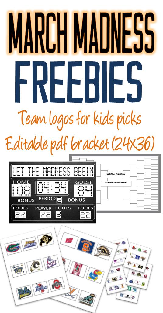 Editable PDF Bracket