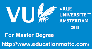 Vu Amsterdam fellowship programme for international students 2018 | 19 Vu Amsterdam Fellowship Scholarship 2018, Application Deadline VUFP, Applying Method of VUFP, Eligibility of VUFP, Official Website of VUFP.,