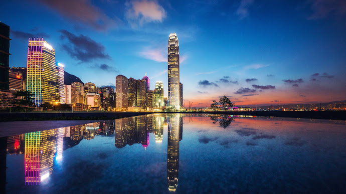 Wallpaper: Hong Kong Cityscape
