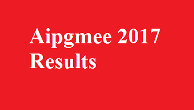 Aipgmee 2017 Results