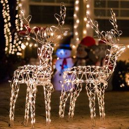outdoor lighted christmas decorations - Outdoor Lighted Christmas Decorations