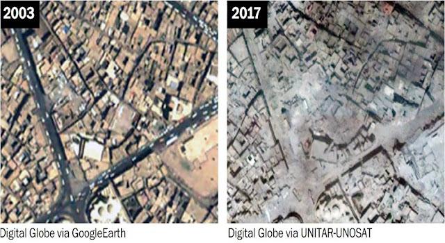Μοσούλη: 2003 και 2017