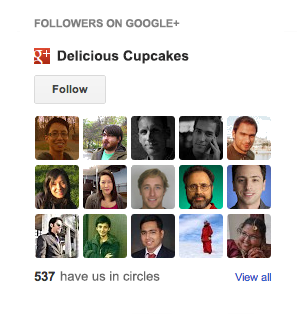 delicious-cupcakes%2520%25281%2529 Grow your audience with the Google+ followers gadget