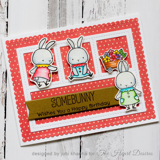 #mftstamps bunny card