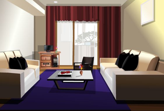 TollFreeGames Fancy Room …