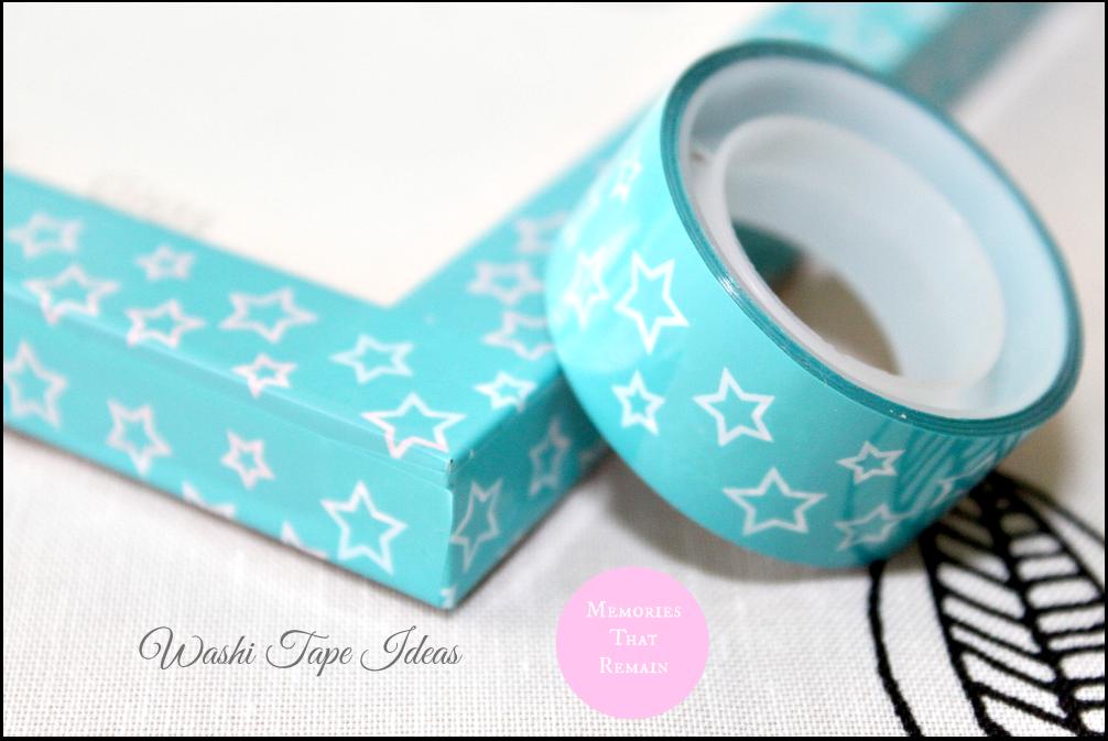 washi tape blue