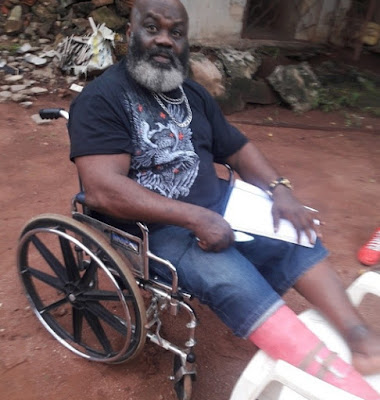 harry anyanwu wheelchair
