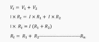 Resistor Series Connection Formula