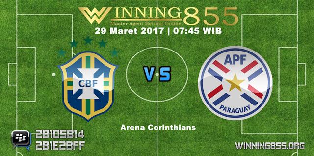 Prediksi Skor Brazil vs Paraguay 29 Maret 2017