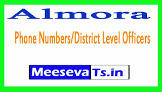 Almora Phone Numbers/District Level Officers Mobile Numbers Uttarakhand