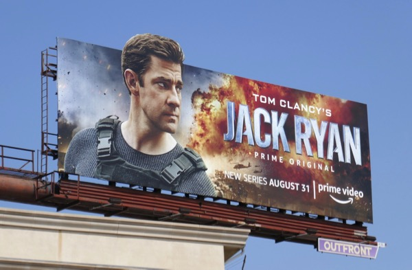 Jack Ryan extension cut-out billboard