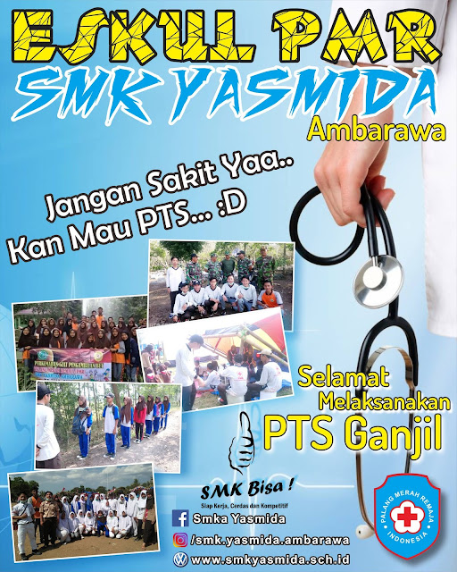 Design Ucapan Selamat Ujian Oleh PMR SMK Yasmida