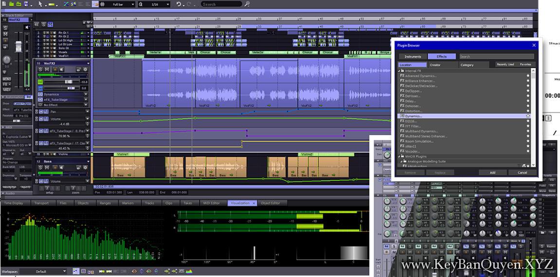 MAGIX Samplitude Pro X4 Suite 15.0.0.40 Full Key Download, Bậc thầy trong nghệ thuật phù thủy âm thanh.