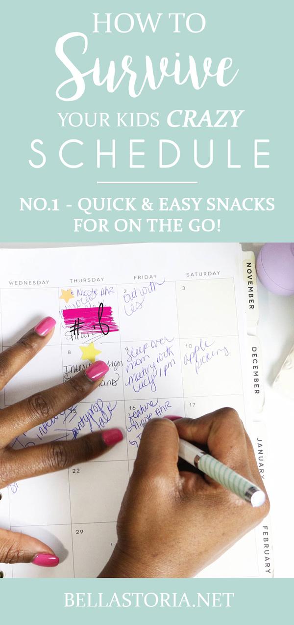 easy snack ideas for kids