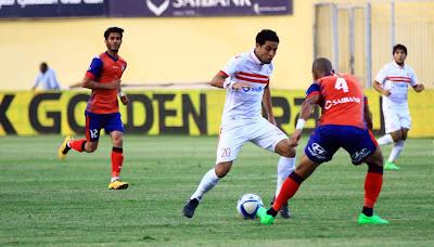 ملخص مباراة الزمالك وبتروجيت في الدروي المصري , نتيجة مباراة الزمالك اليوم