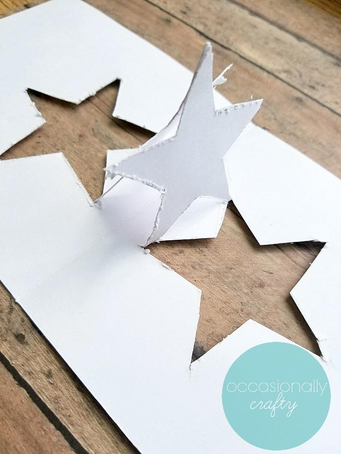 Origami Star Pop Up Card | 907x680