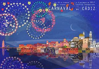 Carnaval de Cádiz 2017 -  José Alberto López - La ciudad disfrazada