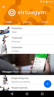 VirtuaGym Fitness Home, aplicaciones para hacer ejercicios
