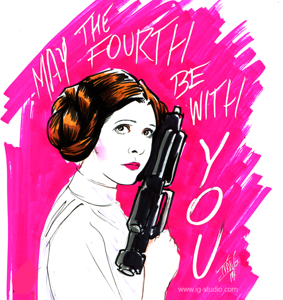 Princess Leia May The 4th Be With You: Confessions Of A Recalcitrant Goddess: What The Princess Said