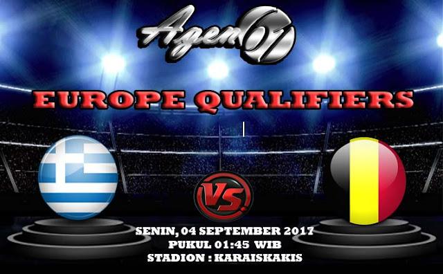 Prediksi Bola Greece vs Belgium 04 September 2017