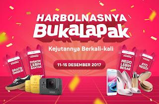 Promo Harbolnas 2017 di Bukalapak