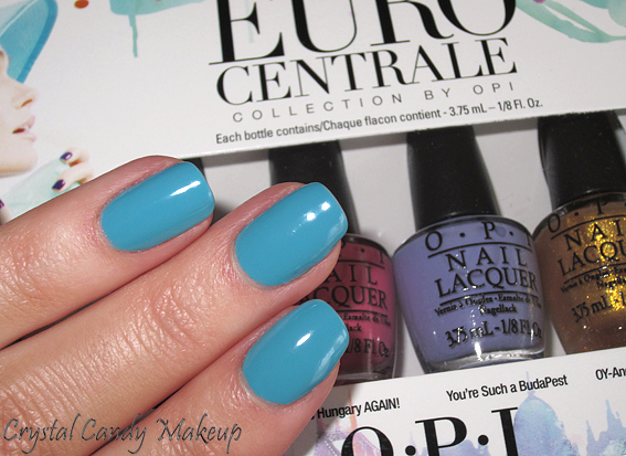 Vernis Can't Find My Czechbook d'OPI (Collection Euro Centrale)