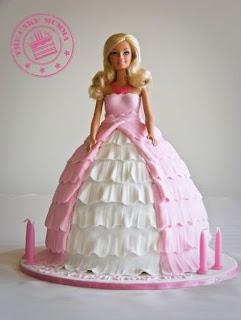 foto kue ultang tahun barbie