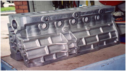 Mechanical Engineering : Engine block manufacturing process