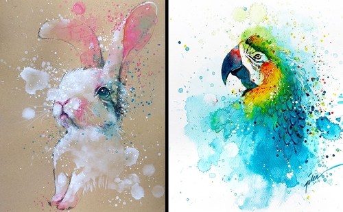 00-Tilen-Ti-Colorful-Watercolor-Paintings-of-Animals-www-designstack-co