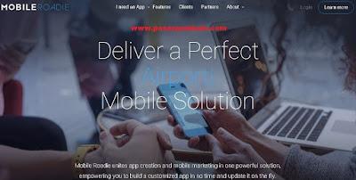 membuat aplikasi android tanpa coding dengan mobileroadie