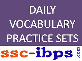 DAILY VOCABULARY PRACTICE SET-13