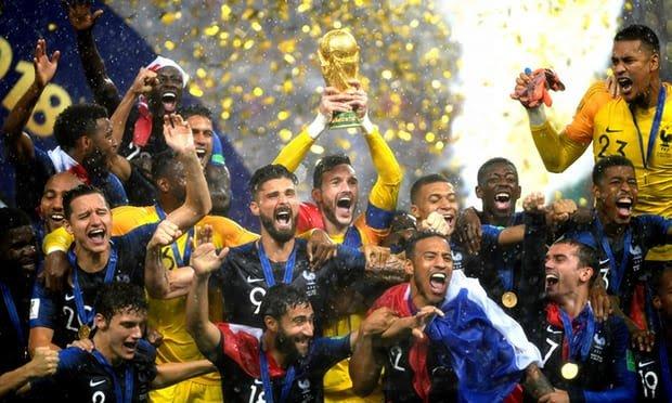 Tahniah Perancis, Juara Piala Dunia 2018
