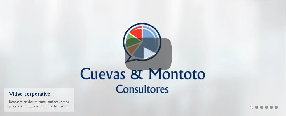 Vídeo corporativo de presentación - Cuevas y Montoto Consultores