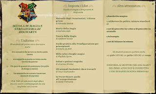 Lista dell'occorrente per il primo anno a Hogwarts