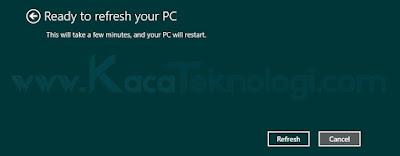 """Cara install ulang Windows tanpa menghapus atau kehilangan data-data penting dan tidak perlu backup. Hal ini bisa dilakukan karena Microsoft sudah menyediakan fitur yang namanya """"Refresh your PC without affecting your files"""". Pada fitur ini kita bisa melakukan install ulang tanpa menghapus data-data penting. Seperti, projek kerja, dokumen, musik, video dan masih banyak lagi."""