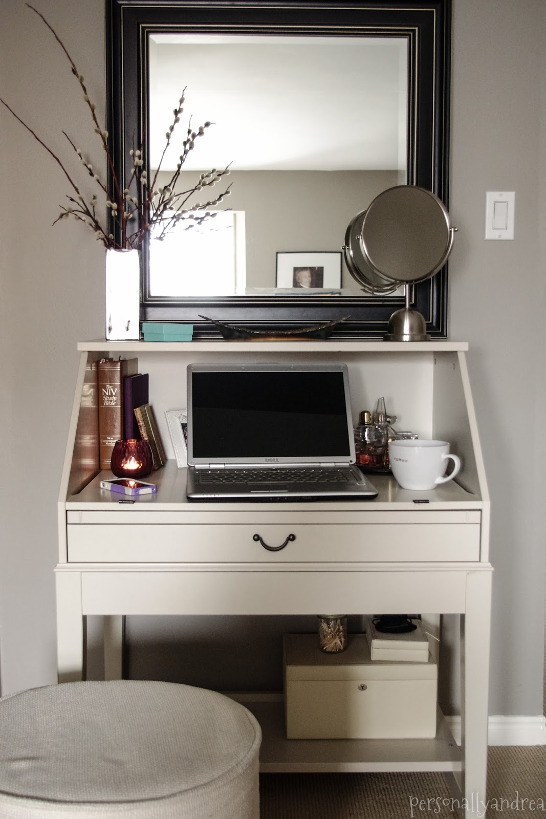 DIY Repurposed IKEA Desk  Personally Andrea DIY