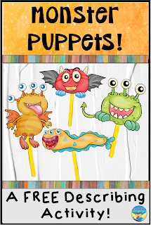 Monster Describing Free Activity Download!