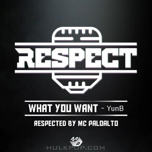 YunB – RESPECT (리스펙트) by 팔로알토 – Single
