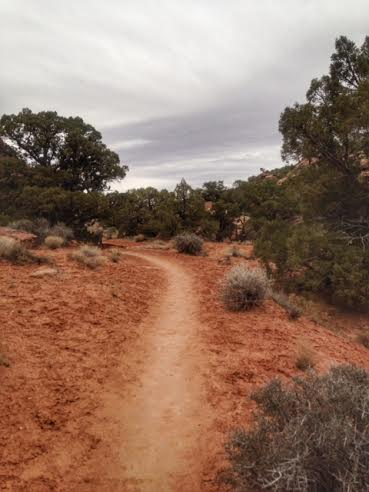 Hiking the Hidden Valley Trail, Moab