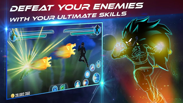 Game Dragon Ball Android Dragon Shadow Battle Warriors MOD APK