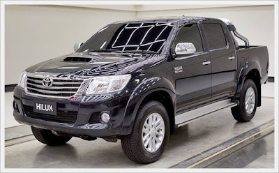2016 Toyota Hilux Inner Strong Design